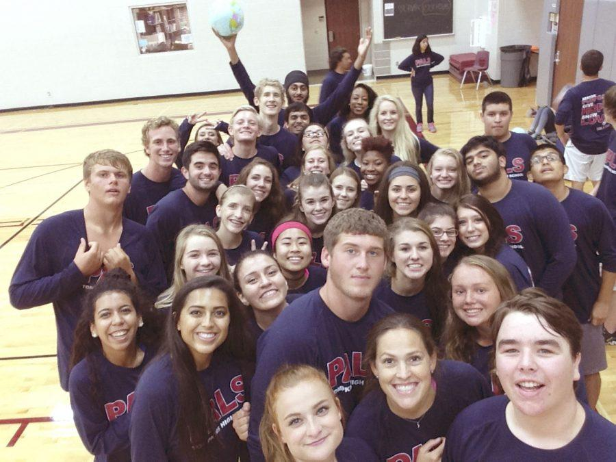 Tompkins' PALs attend a leadership conference held at Cinco Ranch High School.