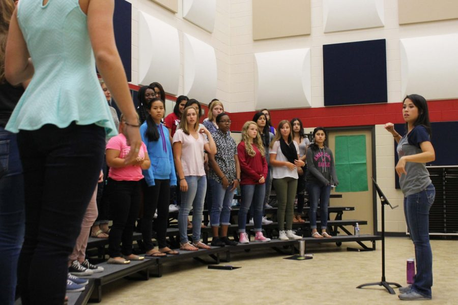 Choir Soars at District Auditions