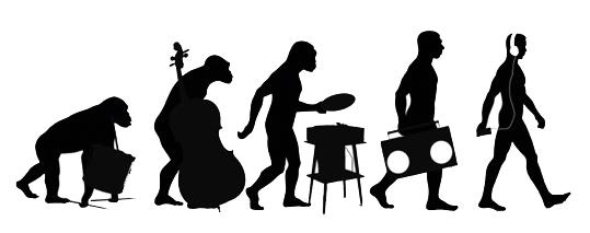Progression Of Tunes Through Time