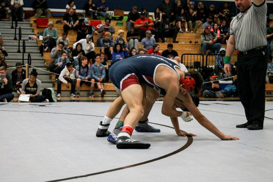 Wrestling+The+Way+to+Regionals+and+State