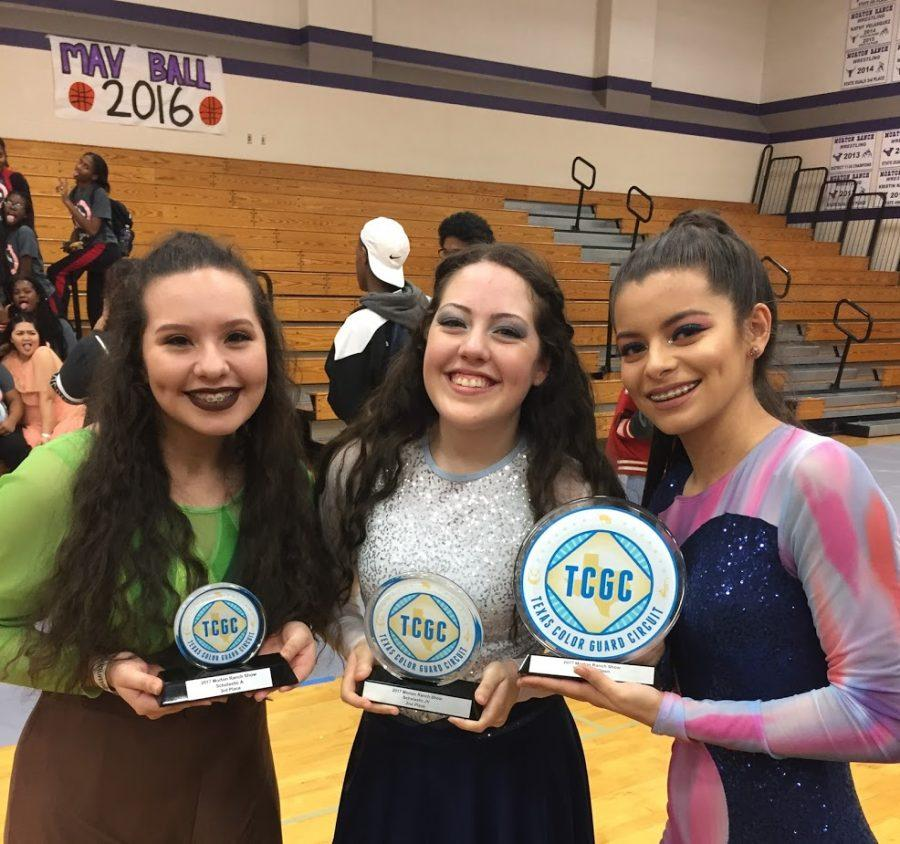 Twirling Their Way to Success, Colorguard Kicks off the Season With a Win