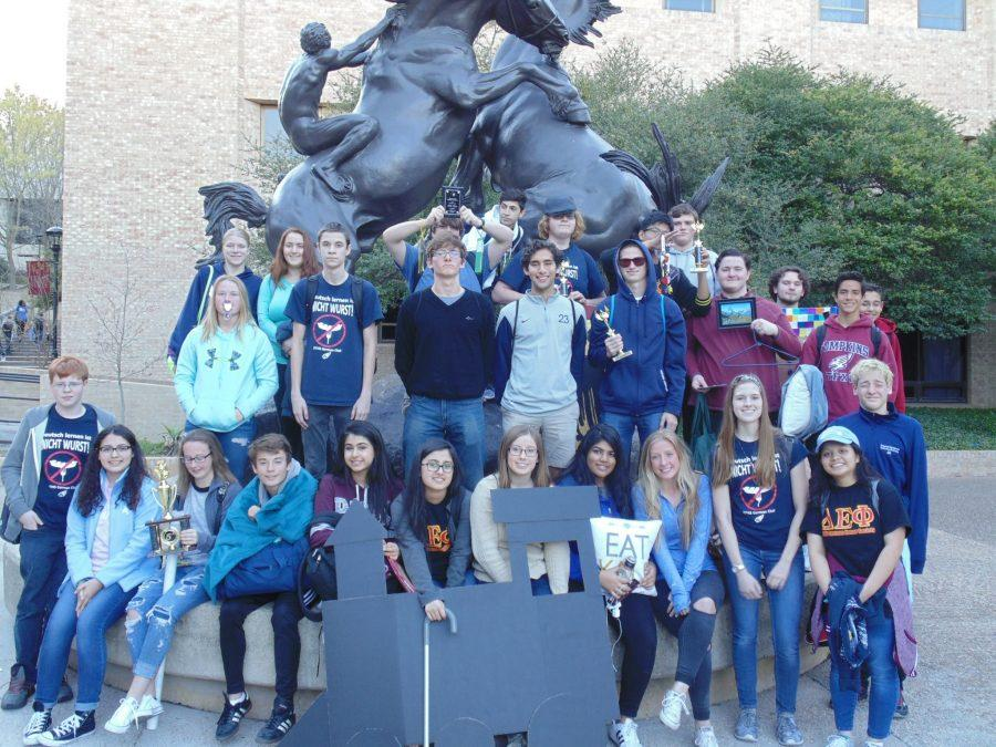 German+Students+at+Texas+State+German+Contest%2C+Place+in+Top+5