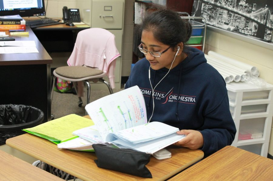 Tompkins Students Excel at District UIL Meet