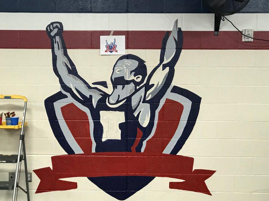 Painting Tompkins Spirit: NAHS Wrestling Mural Comes to Life