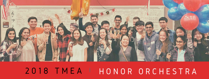 Sinfonia Orchestra Named the 2018 Texas Honor Orchestra