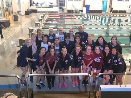 Swimming and Diving is State Bound