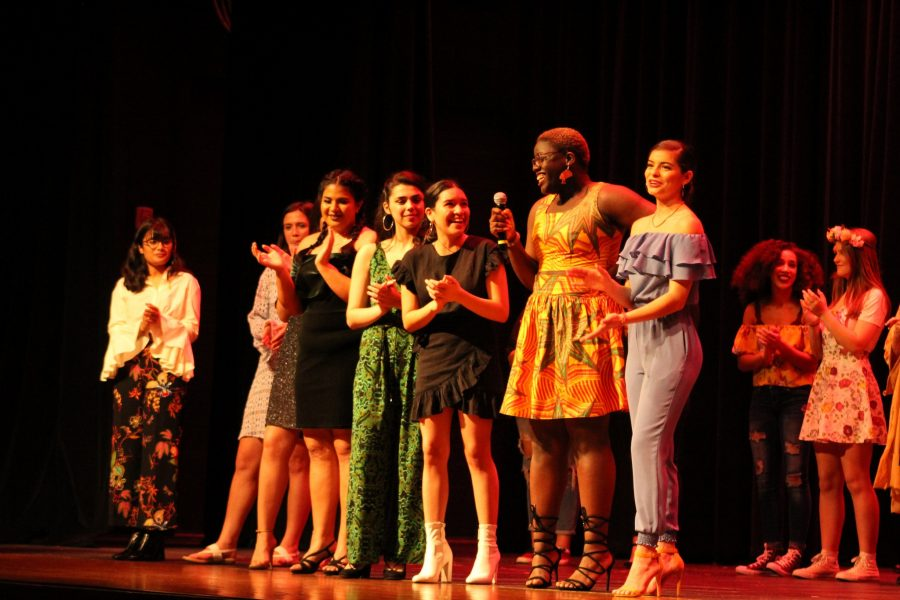 Falcons Flaunt Styles at Spring Fashion Show