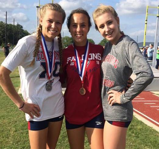 Girls Track's Strong Showing at District Meet