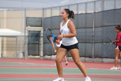 Varsity Tennis Wins District