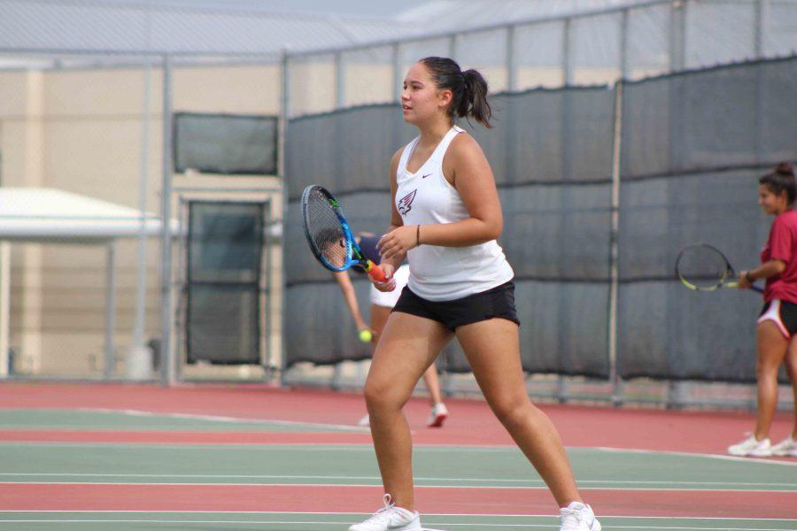 Varsity+Tennis+Wins+District