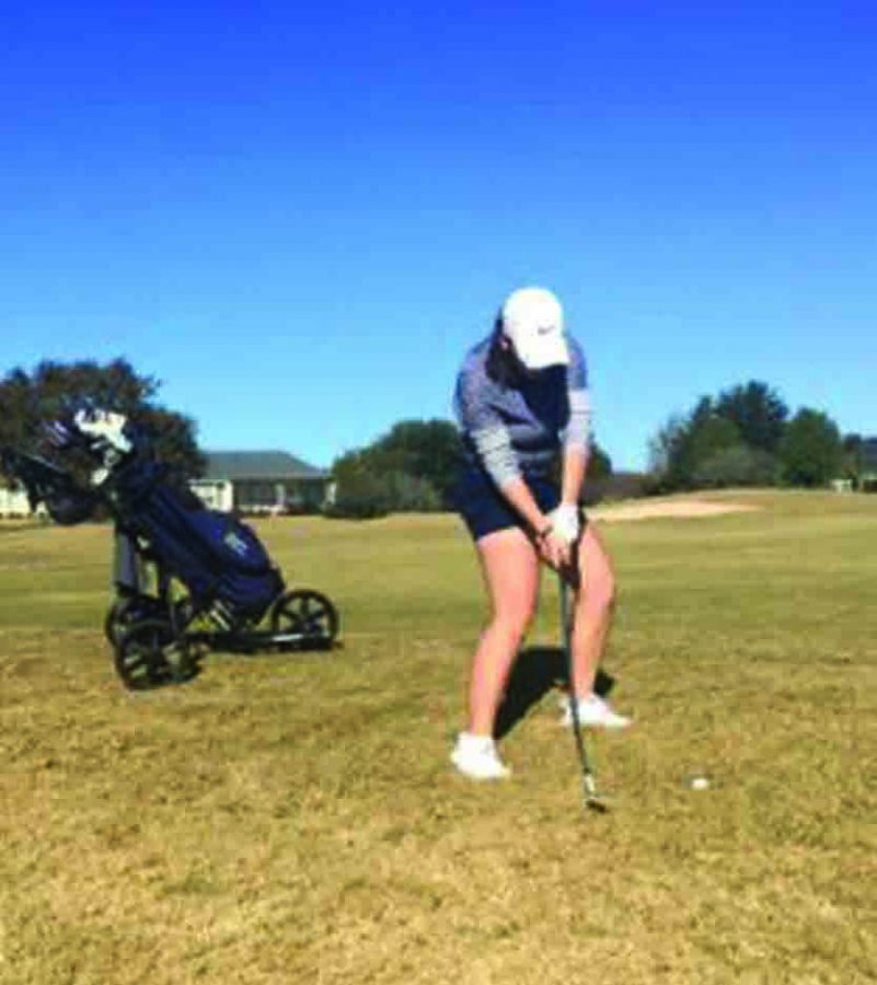 The Falcon Golfers Swing in the Season