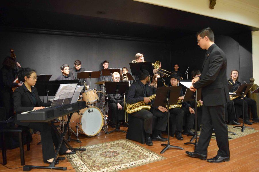Jazz+Band+Takes+on+Sam+Houston+Jazz+Festival
