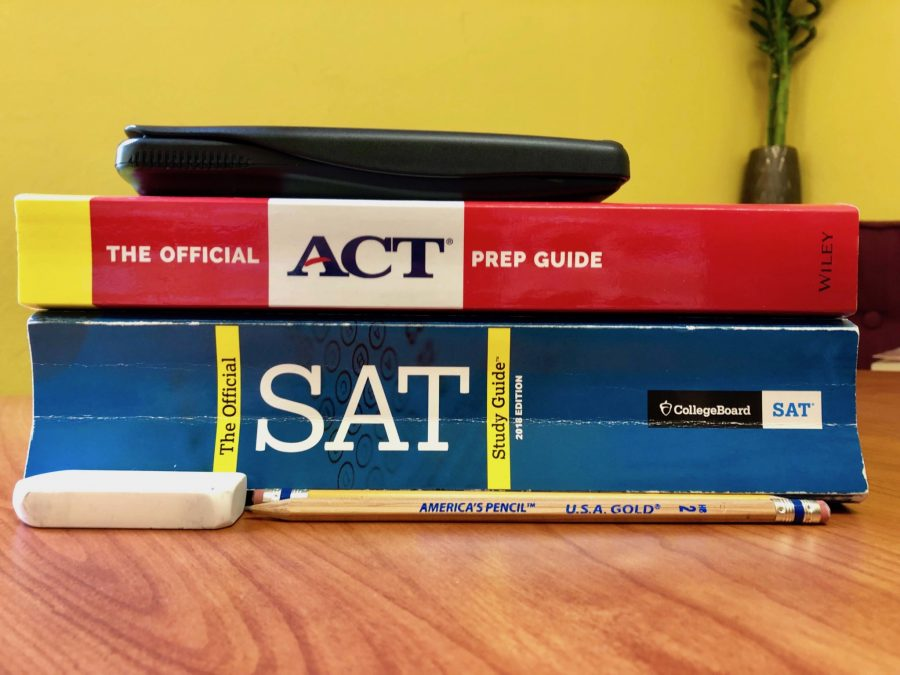 Students prepare for the SAT/ACT