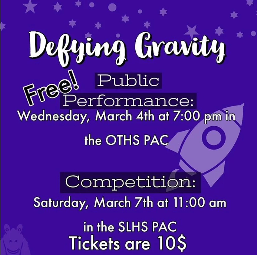 Theatre Flies into UIL Competition with Defying Gravity
